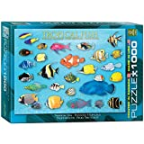 Eurographics Tropical Fish Puzzle (1000 Pieces)