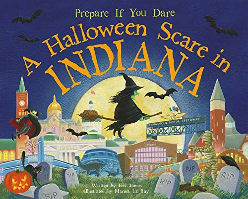 A Halloween Scare in Indiana by Eric James (2014-08-01) (Halloween In Indiana)