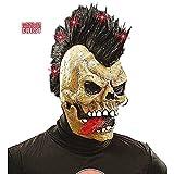 Skull Mask withFibre Optic Light Up Crest Halloween Skulls & Skeletons Masks Eyemasks & Disguises for Masquerade Fancy Dress Costume Accessory
