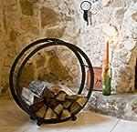 Support bois de chemin�e Corbeille bo...