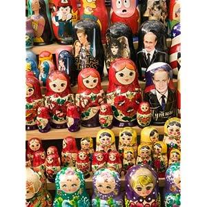 Matryoshka Nesting Dolls, Budapest, Hungary Photographic Poster Print
