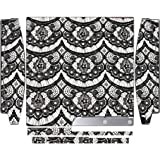 Black Lace Playstation 3 & Ps3 Slim Vinyl Decal Sticker Skin By E And M Designs - B018BXYEFY