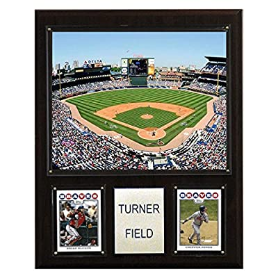 MLB Turner Field Stadium Plaque
