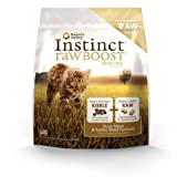 Instinct Raw Boost Grain-Free Duck Meal and Turkey Meal Formula Dry Cat Food by Nature's Variety, 5.1-Pound Bag