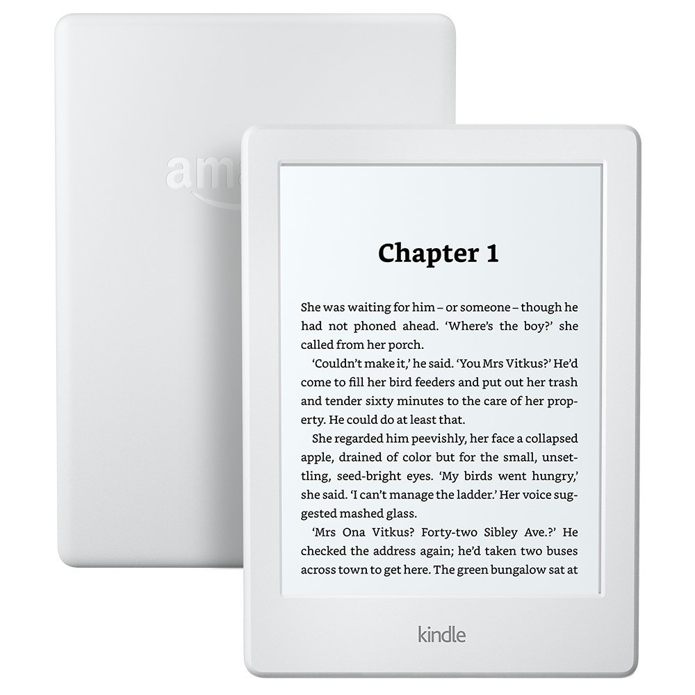 All-New Kindle E-reader (Wi-Fi) White
