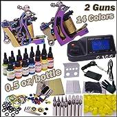 プロマグネットタトゥーマシン 専門入れ墨電源タトゥーチブ セット GU83