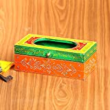 Cultural Concepts Handpainted Tissue Paper Box