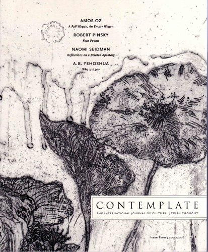 Contemplate: The International Journal of Cultural Jewish Thought