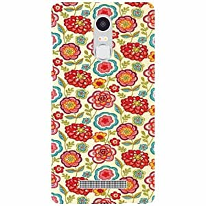 Back Cover For Xiaomi Redmi Note 3 -(Printland)