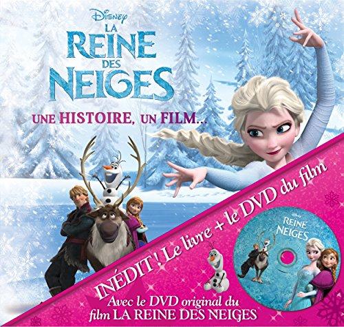 La reine des neiges : une histoire, un film… (1DVD)