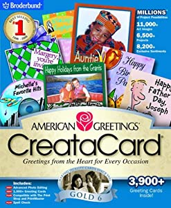 American Greetings CreataCard Special Edition