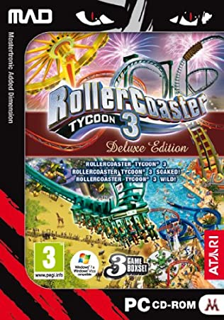 Rollercoaster Tycoon 3 - Deluxe Edition (PC CD)
