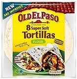 Old El Paso Soft Flour Tortillas (Pack of 12)