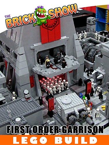LEGO Star Wars Force Awakens First Order Garrison MOC