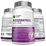 Maximum Strength Resveratrol with Green Tea, Acai, Grape Seed Extract, and Antioxidant Vitamin C - 1,000mg Per Serving - 60 Capsules - Key Nutrients for Skin, Hair, Cardiovascular, Joint, and Nervous System Support - Manufactured in a USA FDA Approved GMP Certified Laboratory Exclusively for Abundant Health