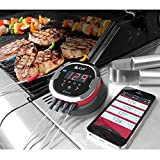 iGrill2 iDevices Wireless Bluetooth BBQ Meat Thermometer, 4-Probes