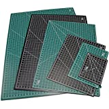 "US Art Supply® 24"" x 36"" GREEN/BLACK Professional Self Healing 5-Ply Double Sided Durable Non-Slip PVC Cutting Mat Great for Scrapbooking, Quilting, Sewing and all Arts & Crafts Projects (Choose Green/Black or Pink/Blue Below)"