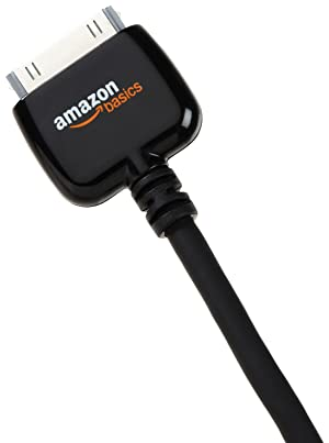AmazonBasics 3.2 feet 1.0 Meter USB Charging/Sync Cable for Apple iPod, iPhone, and iPad