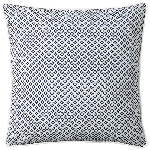 Serena & Lily Cut Circle Dec Pillow Cover- Navy - 1