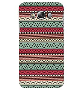 Printdhaba Pattern D-5228 Back Case Cover For Samsung Galaxy E7
