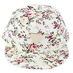 Womens Floral Printed Snapback Hip-Ho...