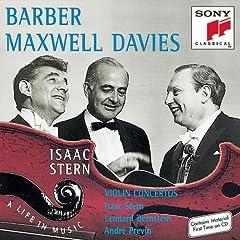Barber - Concerto pour violon 61480525W8L._SL500_AA240_