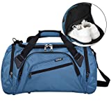 SIYUAN Gym Bag for Men Shoe Compartment Water Resistant Athletic Duffel Bag,RoyalBlue,Large (Color: C# royalblue, Tamaño: Large)