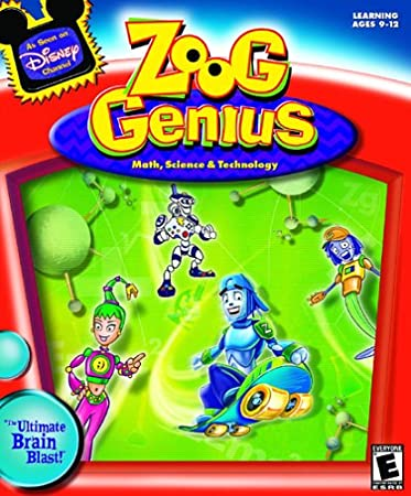 Disney's Zoog Genius: Math, Science, Technology