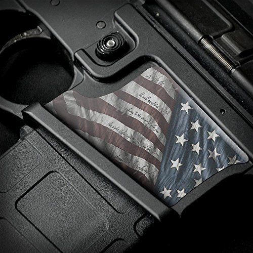 Gunskins Magwell Skin Specialty Vinyl Decal For Ar 15 M4