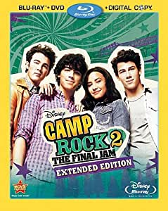 Camp Rock 2: The Final Jam Extended Edition (3-Disc Combo Pack) [Blu-ray + DVD + Digital Copy] (Bilingual)
