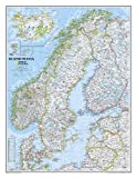 National Geographic Maps Scandinavia Classic Wall Maps Countries & Regions (Reference - Countries & Regions)