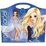 Top Model Glamour libro especial para colorear