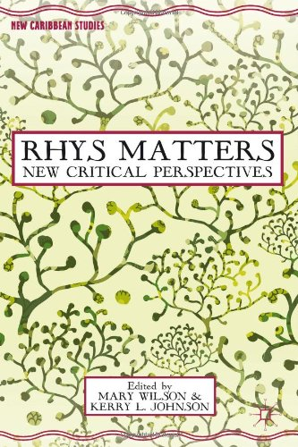 Rhys Matters: New Critical Perspectives (New Caribbean Studies)