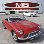 CLASSIC MG CARS UK SQUARE 2014 WALL C...