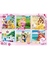 Coffret Princesses et les Palace Pets, 12 livres histoires et coloriages : Un poney aux grands rêves ; La sieste de Bella ; La reine de la valse ; Bon ... tour de Porcelaine ; La petite aventurière