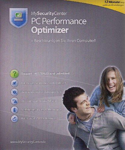 MySecurityCenter PC Performance Optimizer: Beschleunigen Sie deutlich Ihren PC und Internetzugang, PC