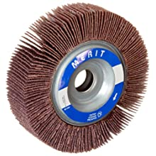 Merit Grind-O-Flex Abrasive Flap Wheel, 5/8&#034; Arbor, Ceramic Aluminum Oxide