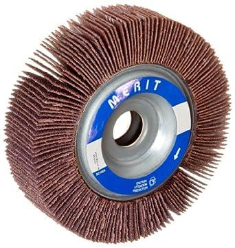 """Merit Grind-O-Flex Abrasive Flap Wheel, 5/8"""" Arbor, Ceramic Aluminum Oxide"""