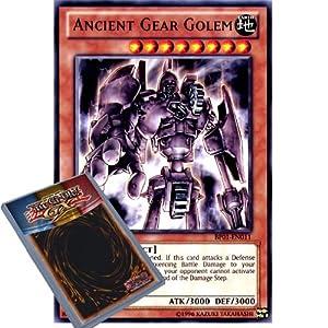 YuGiOh : BP01-EN011 1st Ed Ancient Gear Golem Rare Card - ( Epic Dawn Battle Pack Yu-Gi-Oh! Single Card )