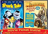 Shark Tale / Madagascar Activity Disc & Movie Ticket 2-Pack