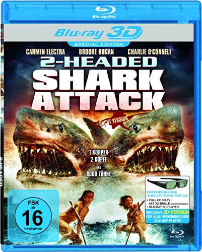 Two Headed Shark Attack (Real 3D Blu-ray) [Special Edition]