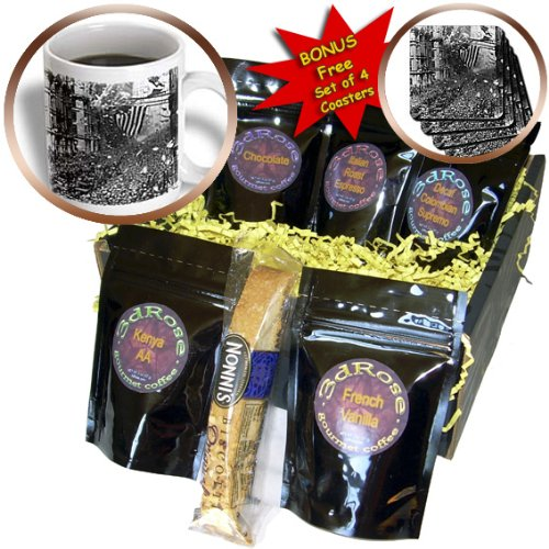 Cgb_171575_1 Florene New York - Image Of 1926 Photograph Of Parade In Nyc - Coffee Gift Baskets - Coffee Gift Basket
