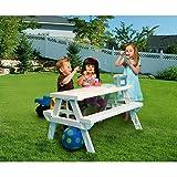 KidNic Children\'s Picnic Table, White
