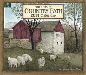 Amazon.com : Legacy 2014 Wall Calendar, Country Path by