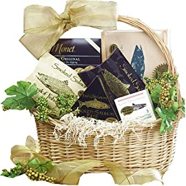 Classic Smoked Salmon and Seafood Lovers Gourmet Food Gift Basket * Kosher *