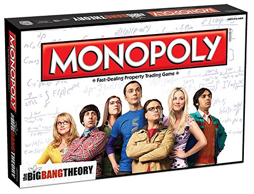 The Big Bang Theory Monopoly Brettspiel Standard