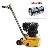 "Gas 8"" Concrete Scarifier Planer Grinder 5.5 HP Honda Engine (Scarifier + Drum Kit)"