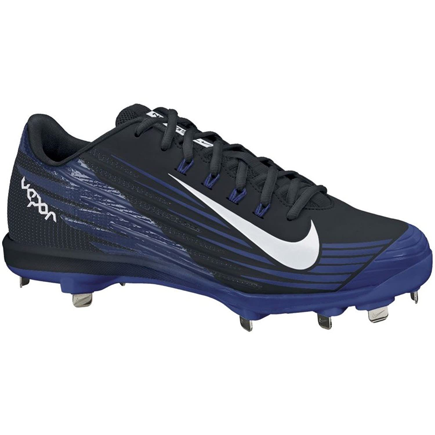 Nike Lunar Vapor Pro Metal Cleats Sz 13.5 BLACK/RUSH BLUE//WHITE
