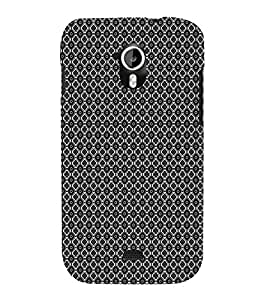 EPICCASE black sparkles Mobile Back Case Cover For Micromax Canvas 2 A110 (Designer Case)