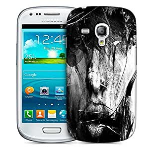 Snoogg Portrait Digital Designer Protective Phone Back Case Cover For Samsung Galaxy S3 Mini